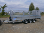 Ifor Williams LM166 Mesh Side Trailer